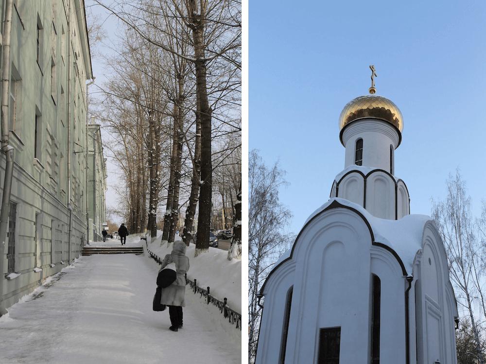 trans-siberian Tomsk winter