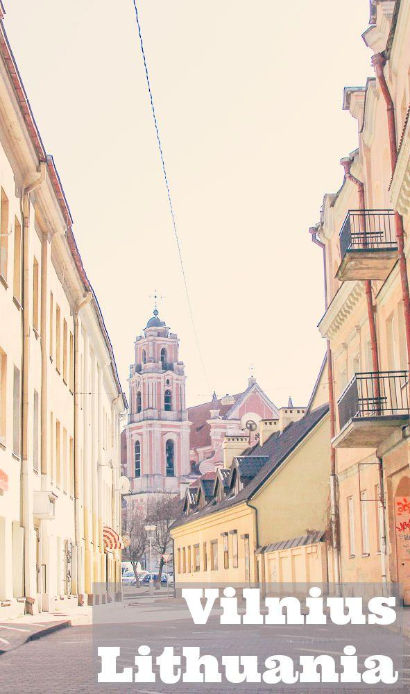 travel tips for Vilnius, Lithuania