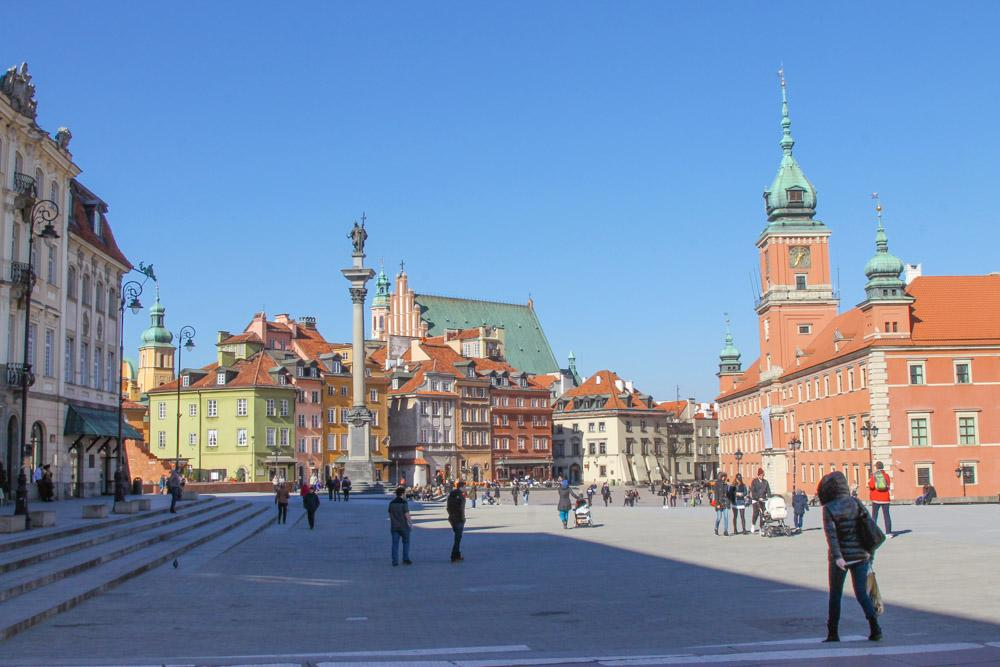 Old Town Warsaw Poland