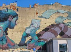 Street Murals Lodz Poland