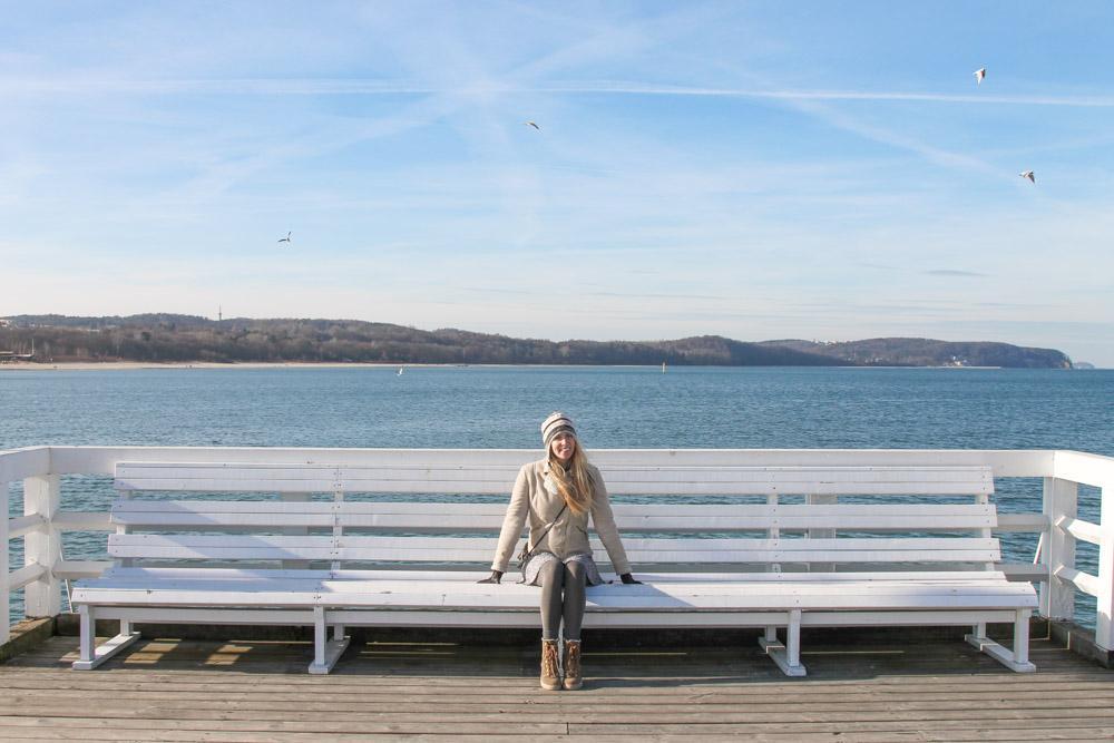Sopot wooden pier Poland