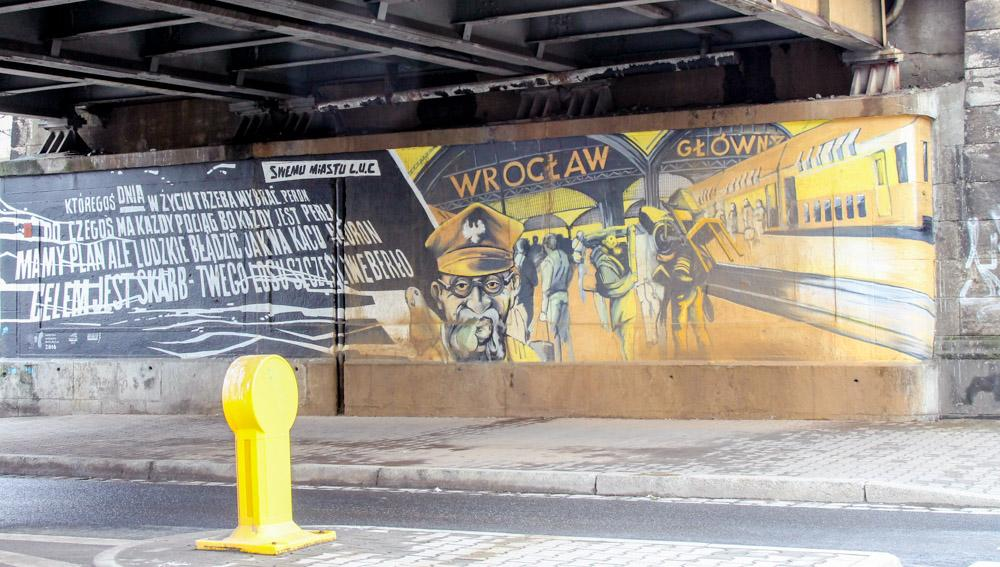 Wroclaw street art Poland