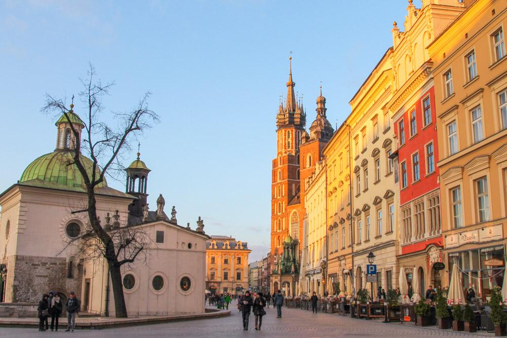 Old Town Krakow, Poland