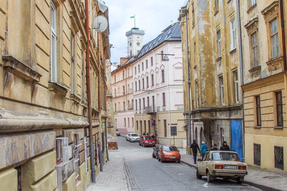 Lviv center, Ukraine