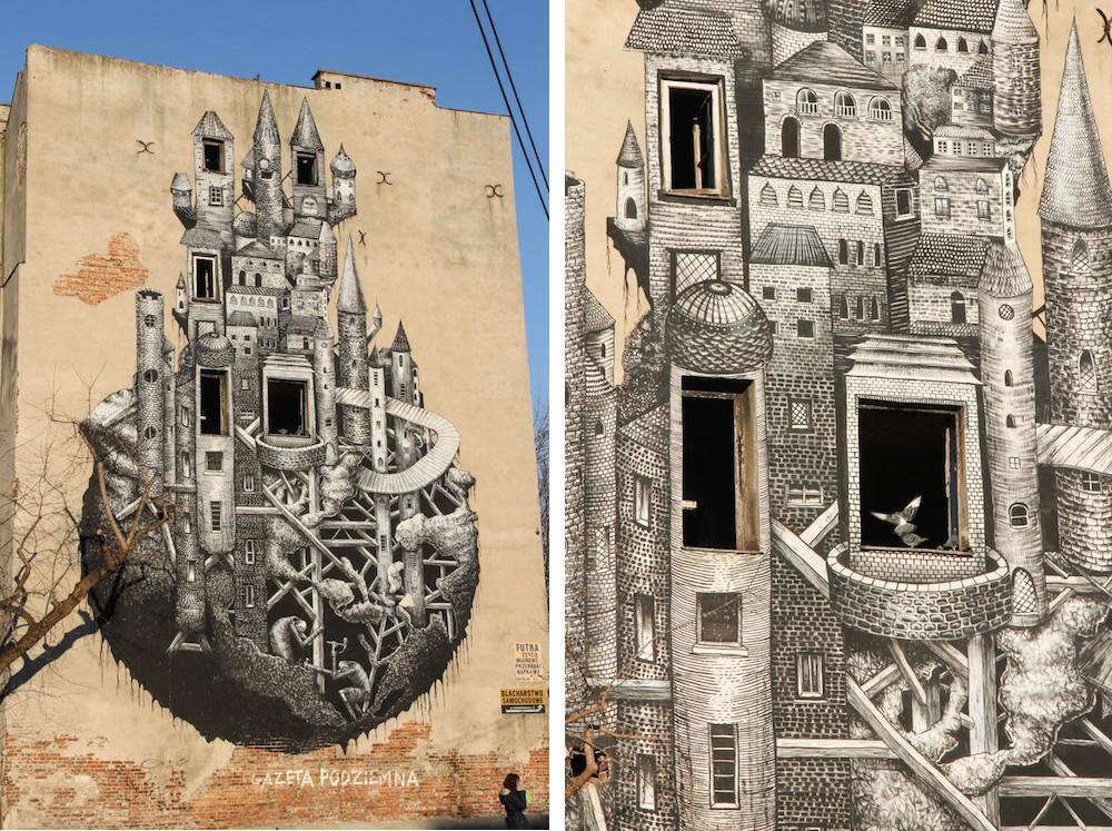 Praga Street Art Warsaw
