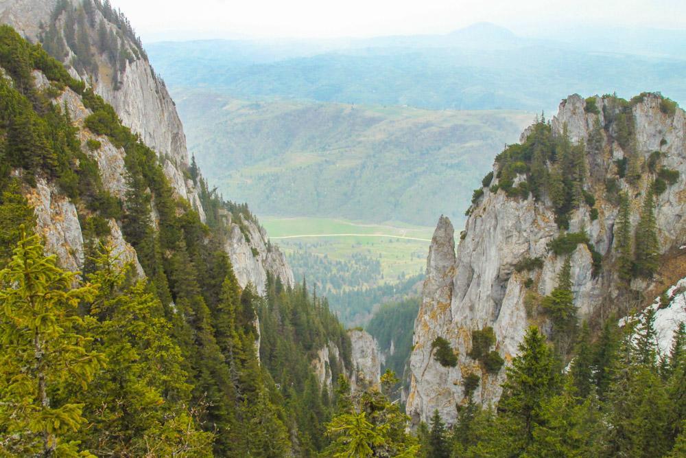 Piatra Craiului Peaks Romania