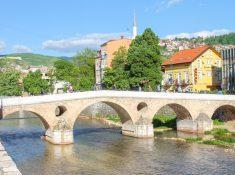 Franz Ferdinand Bridge Sarajevo, Bosnia Herzegovina