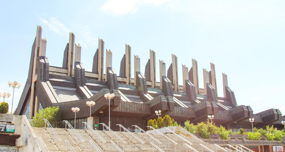 architecture Pristina, Kosovo