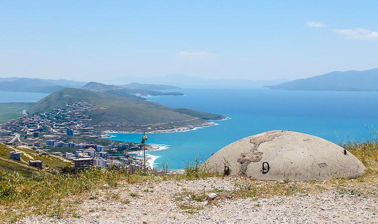 Albanian bunkers