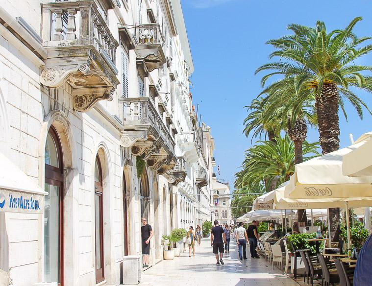 travel to Split, Croatia