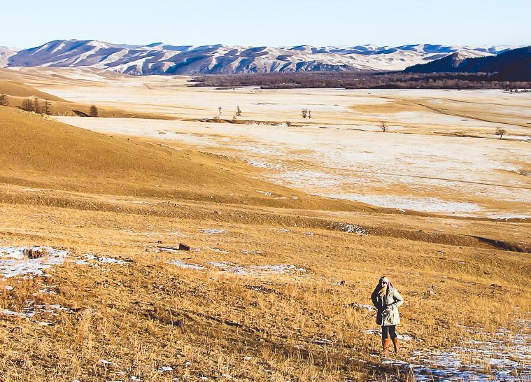 Mongolia in winter