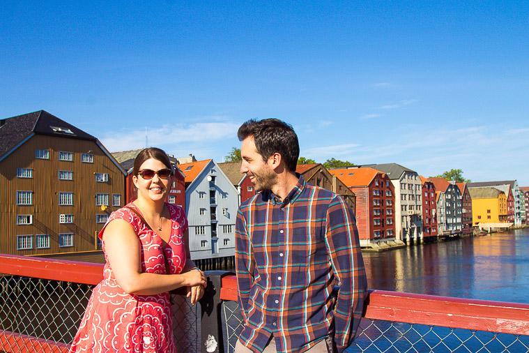 Visiting Trondheim, Norway