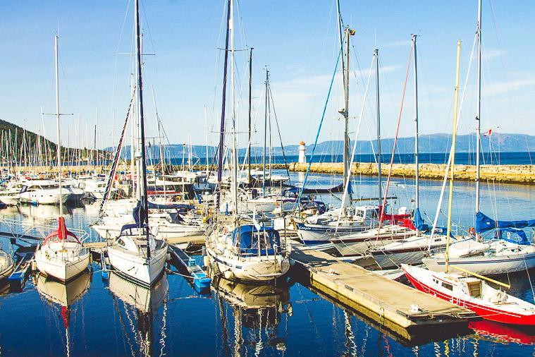Trondheim Harbor Fjord