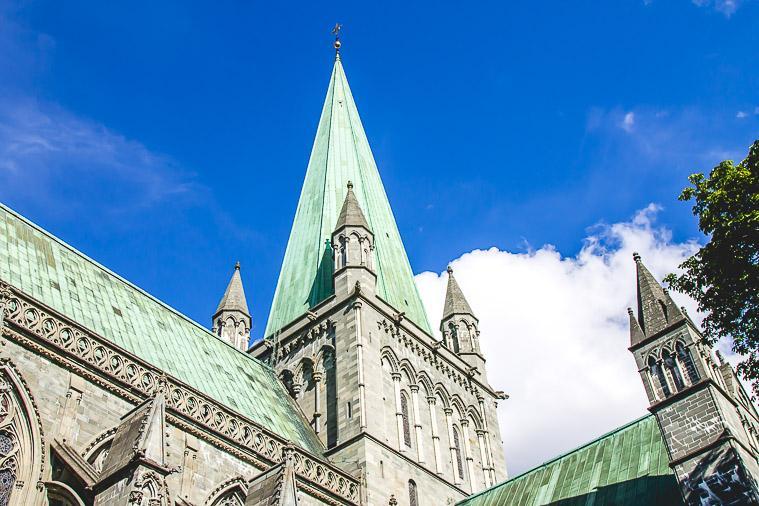 Nidaros Cathedral Trondheim, Norway