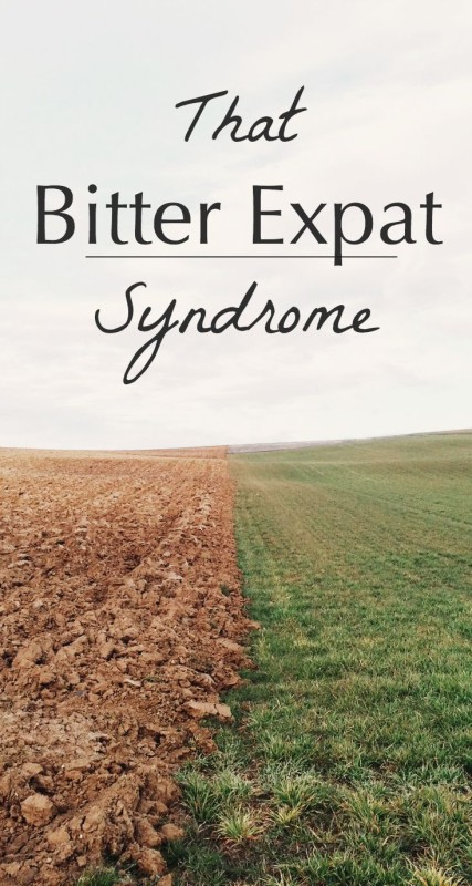 Bitter Expat Syndrome