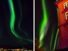 Northern Lights Trondheim Norway