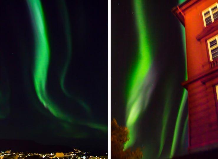Northern Lights Trondheim Norway