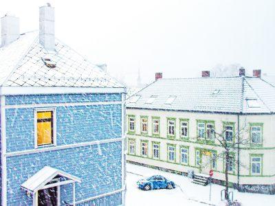snow winter Trondheim Norway