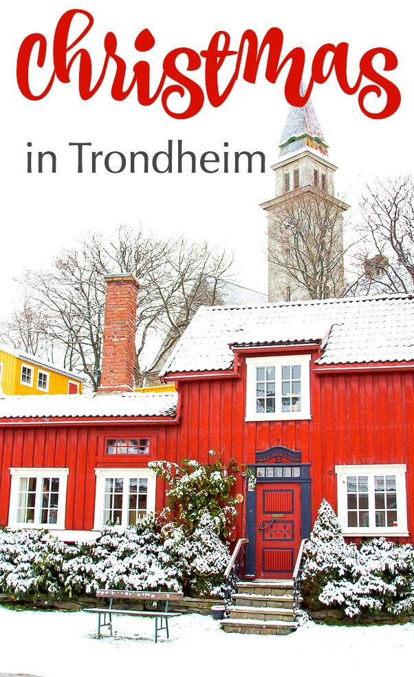Trondheim is beautiful in the snow in winter, and it has one of Norway's best Christmas markets! Click through to read why you should visit Trondheim during the holidays!