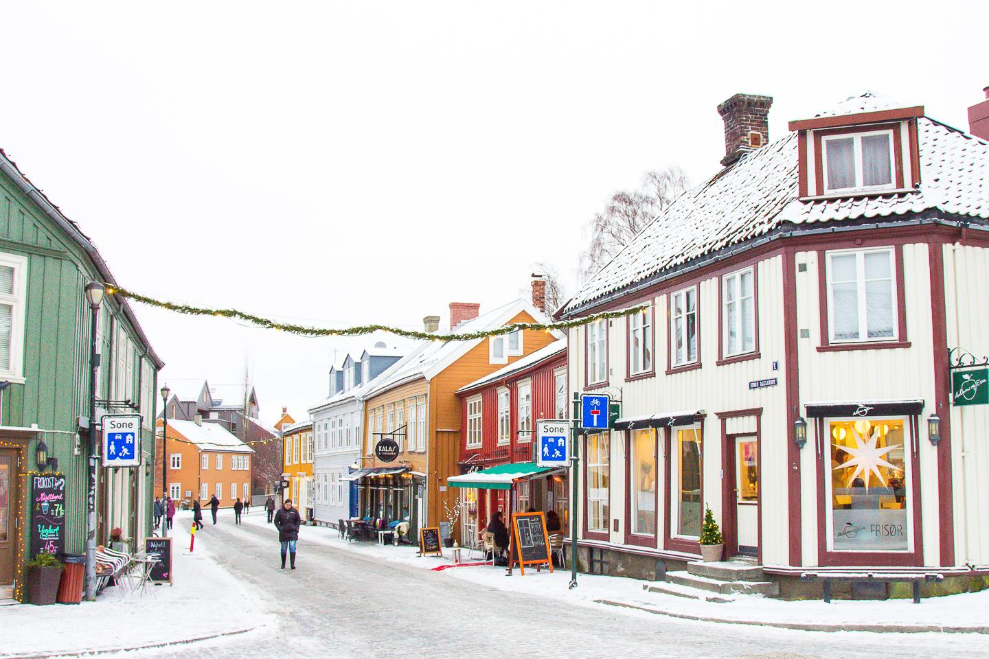 travel winter Trondheim norway