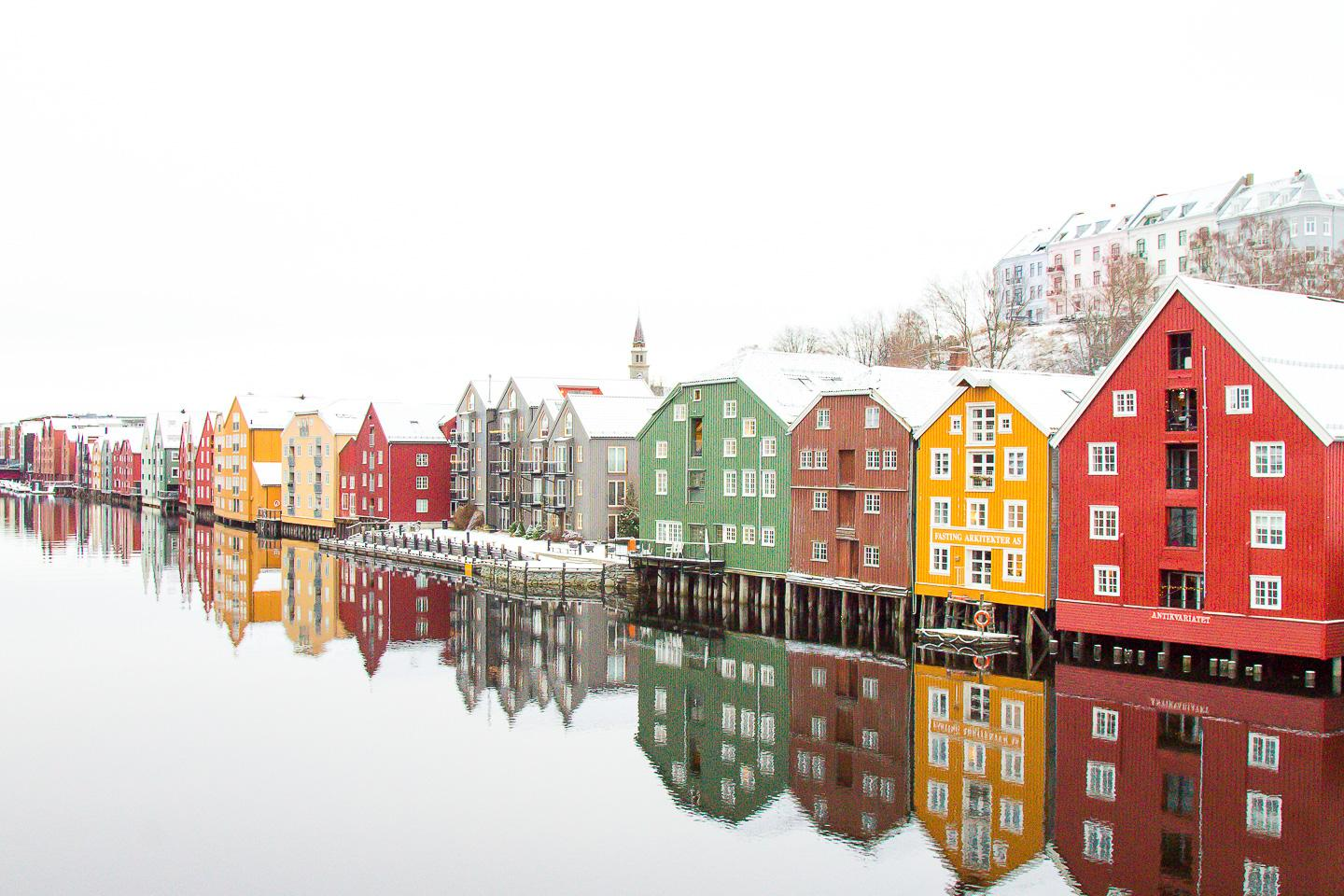 visit winter Trondheim norway