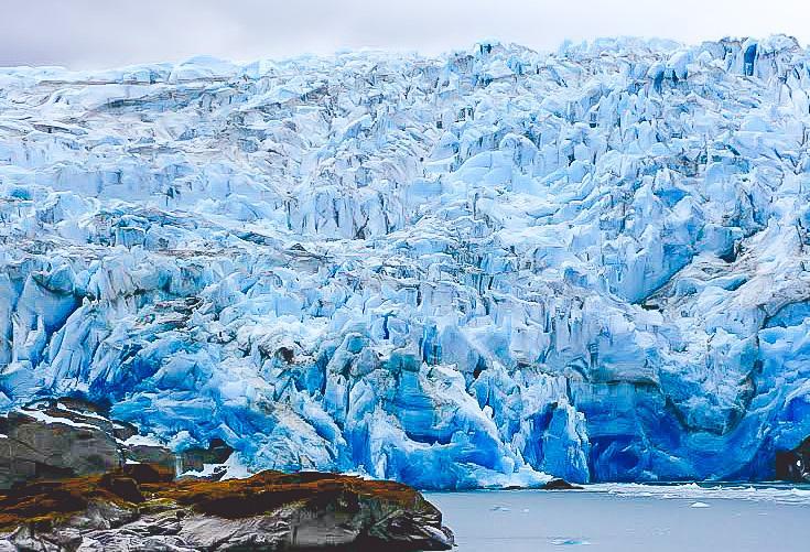 glacier Puerto Edén Chile