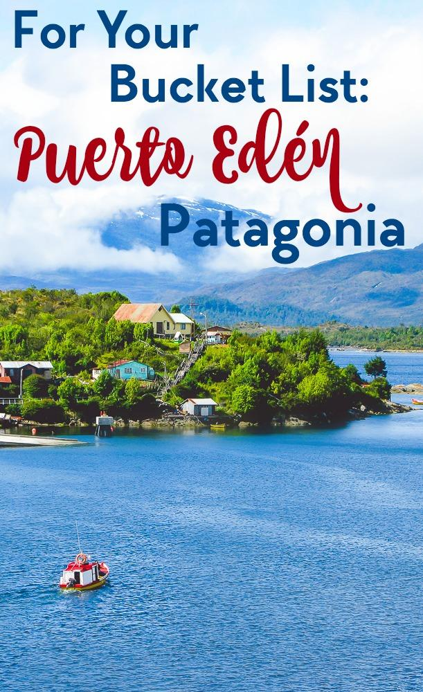 Travel off the beaten path to Puerto Edén - a beautiful remote village in Patagonia in Chile. Click through for everything you need to know about planning a trip there (and some beautiful photos of Patagonia!)