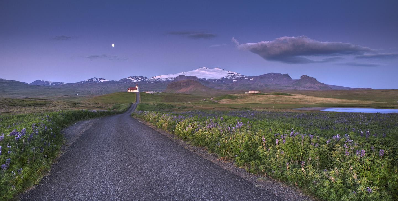snaefellsjokull-ingjaldsholl-road trip iceland