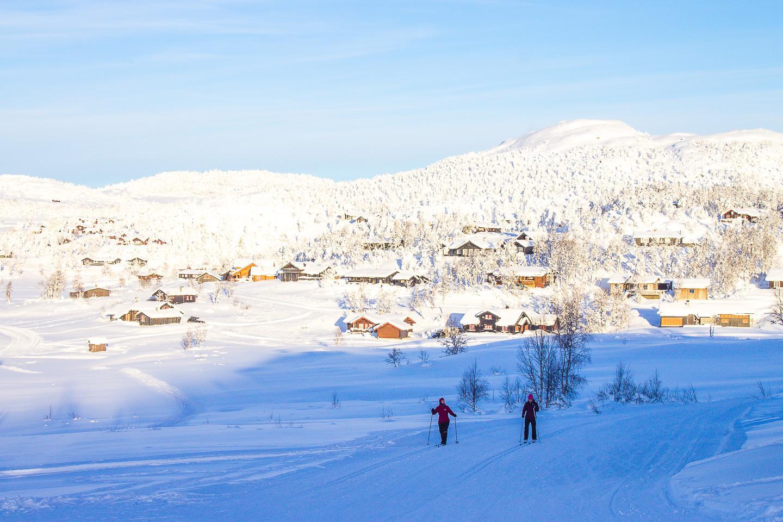 skiing Vierli Rauland Telemark Norway