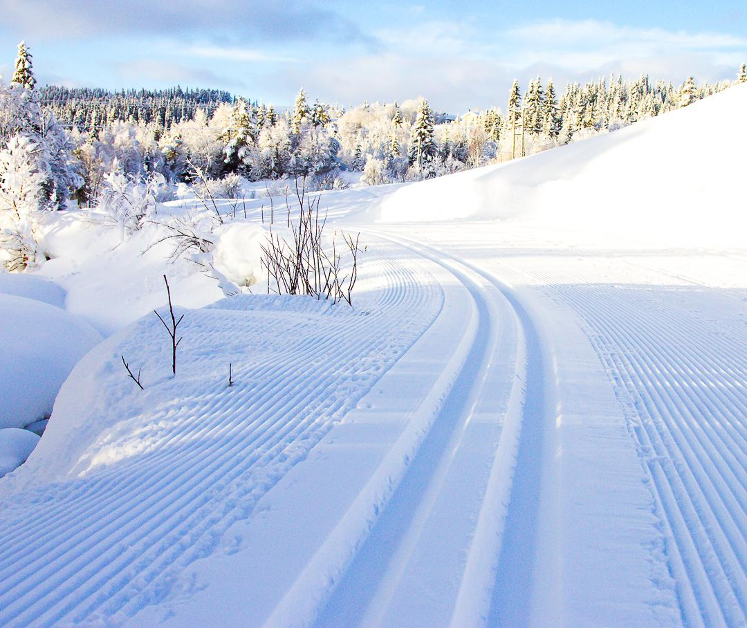 cross-country skiing Rauland Telemark Norway