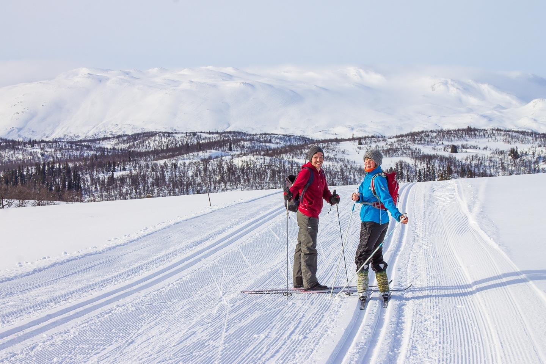 ski de fond Rauland Norvège