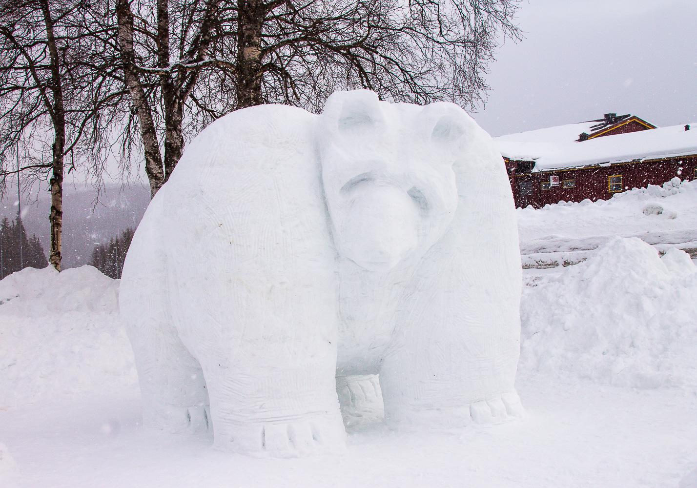 vinje snøformingsfestival