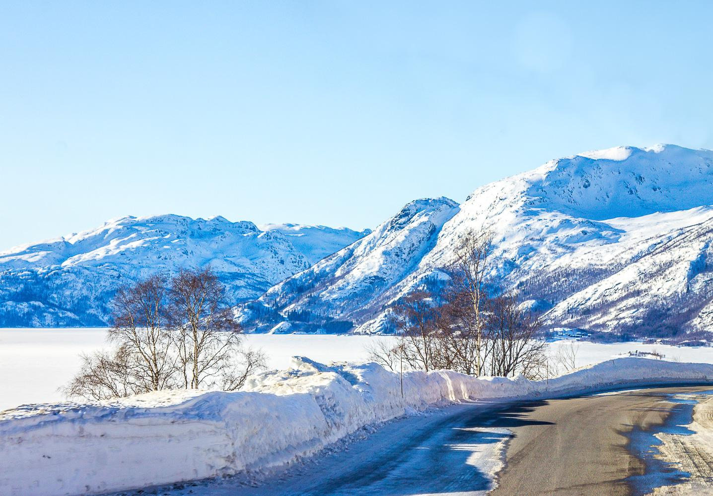 road trip rauland telemark norway