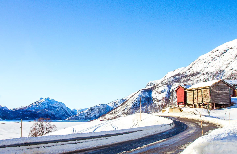 norway hardangervidda road trip