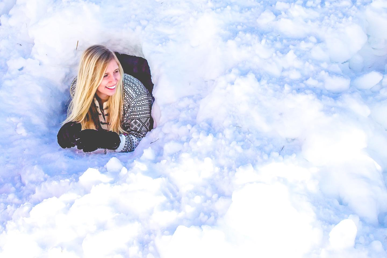 igloo norway winter