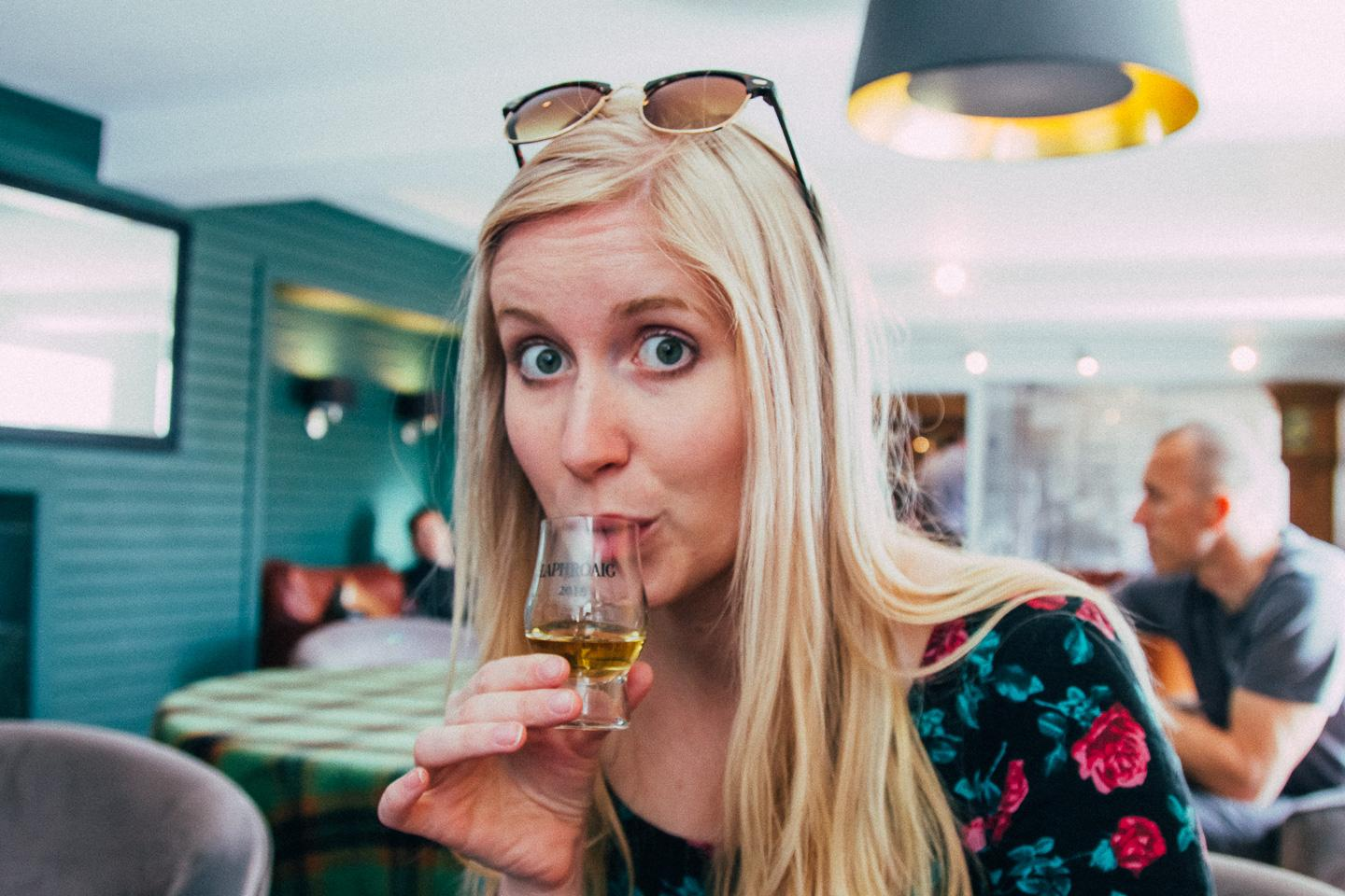 laphroaig distillery tour islay whisky tasting scotland