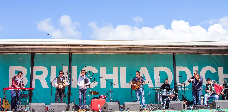 bruichladdich opening day islay whisky festival