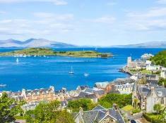 travel through oban scotland