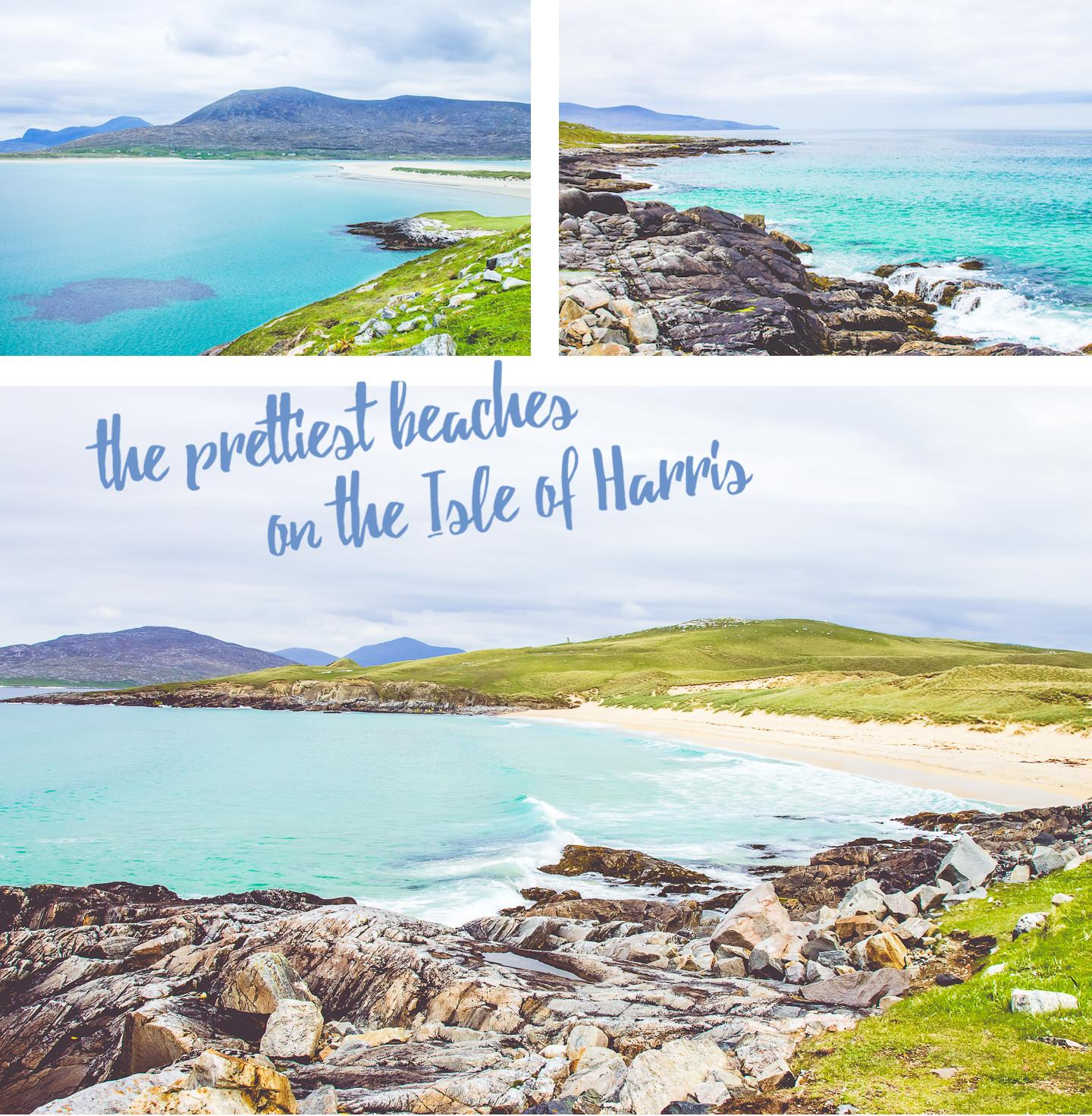 luskentyre beach isle of harris island hopping scotland hebrides