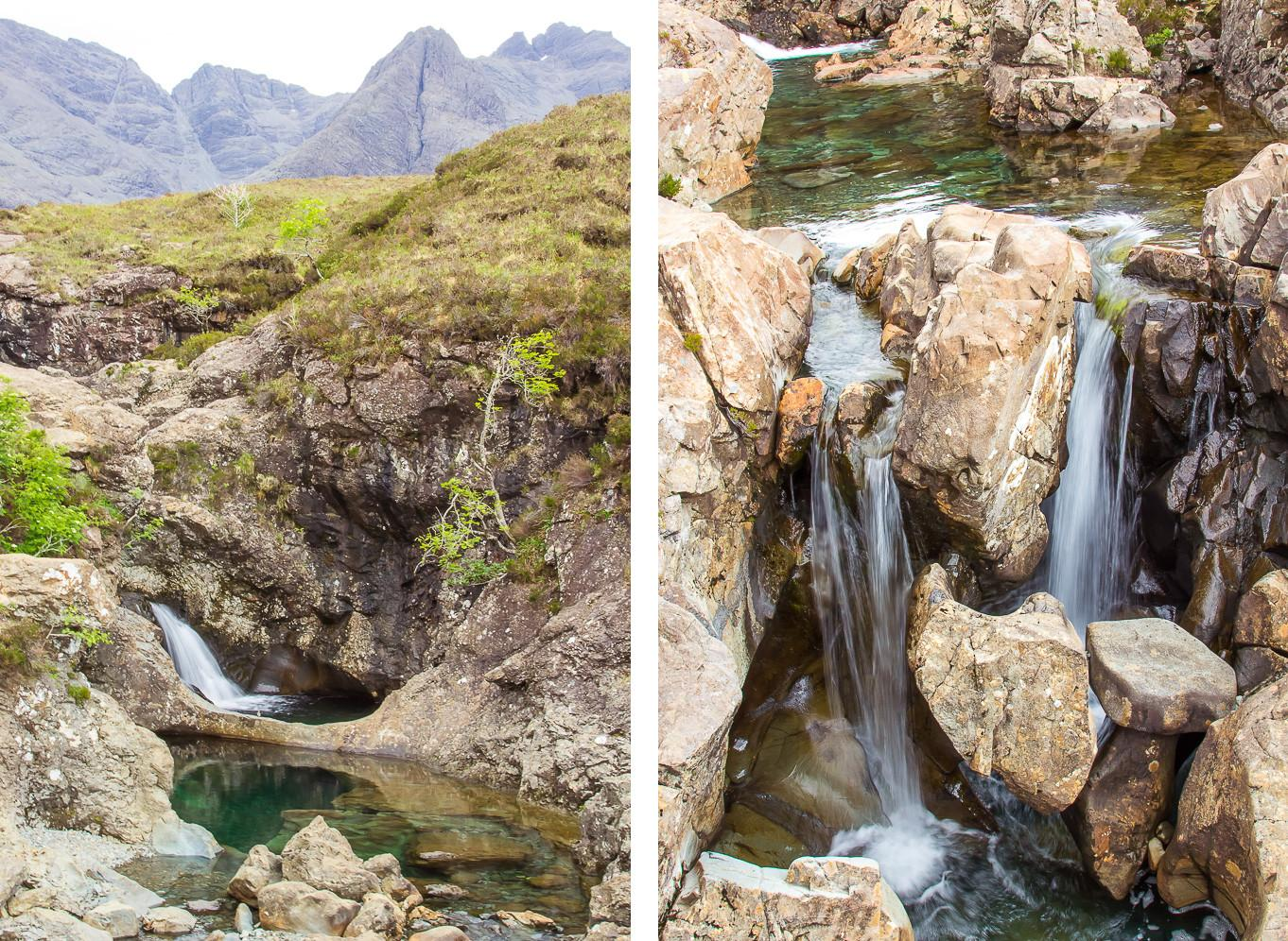 visiting the fairy pools isle of skye scotland