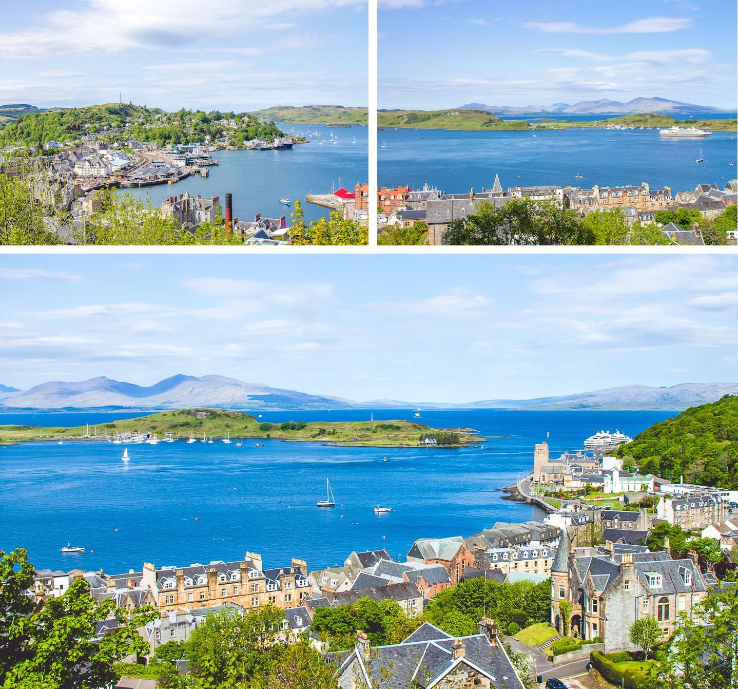 travel through oban scotland