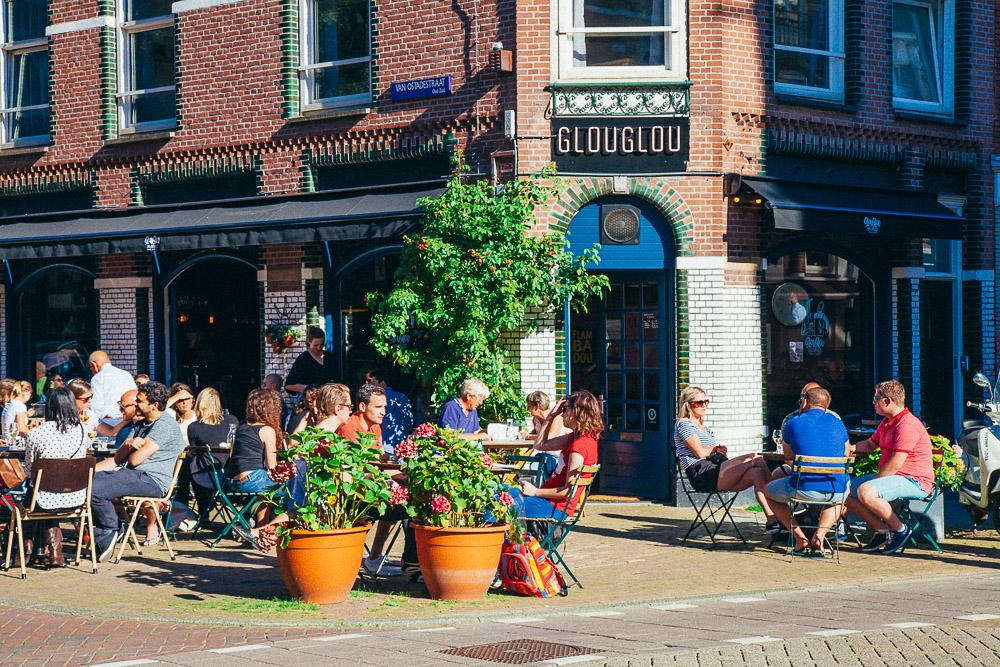 outdoor cafe amsterdam