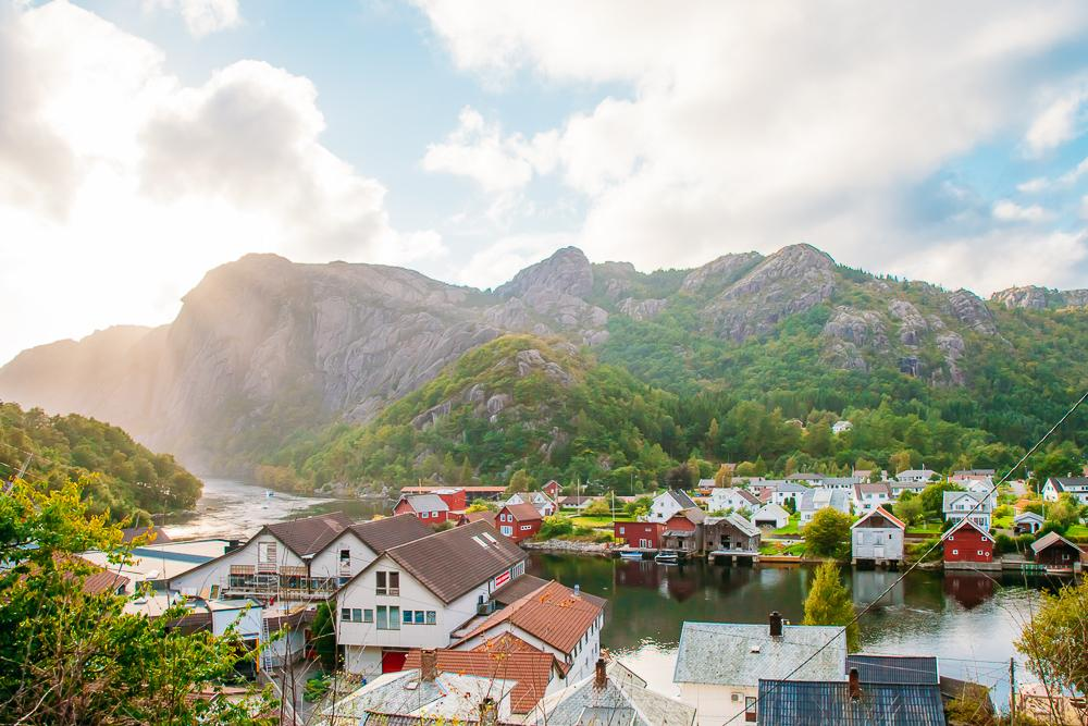 Åna-Sira, Flekkefjord, Norway