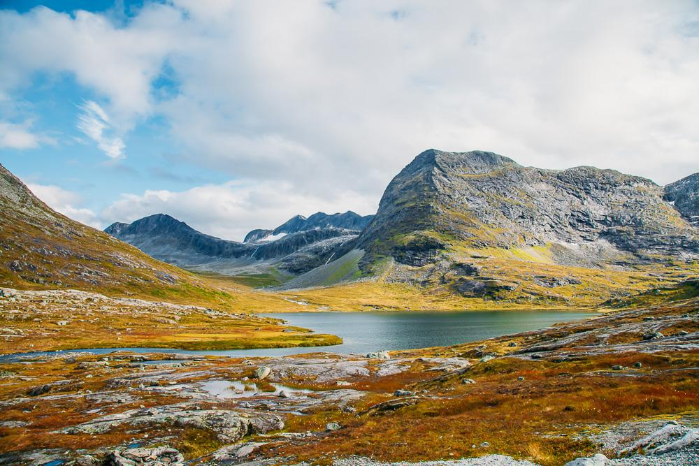 Norwegian road trip Trollstigen mountains