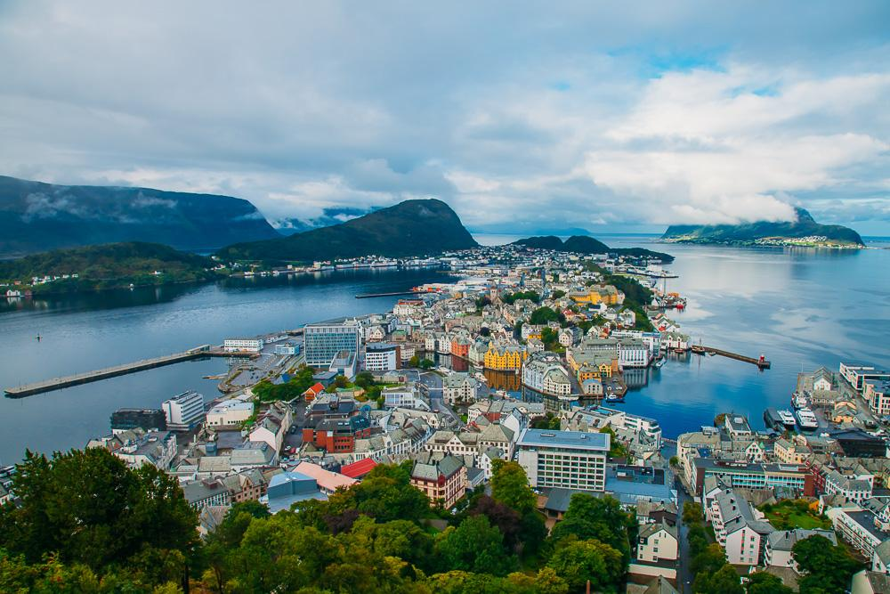 viewpoint ålesund norway