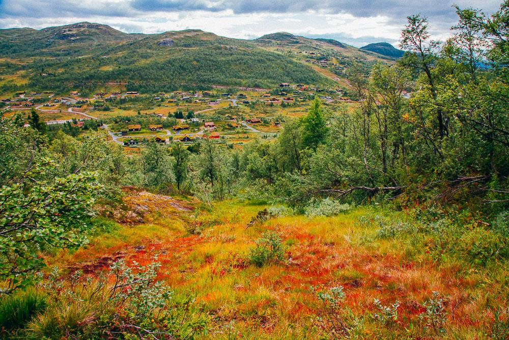 autumn rauland telemark norway