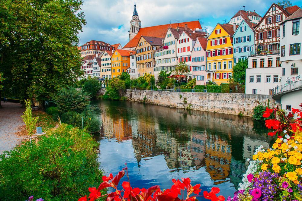 Tübingen Germany Baden Württemberg center travel