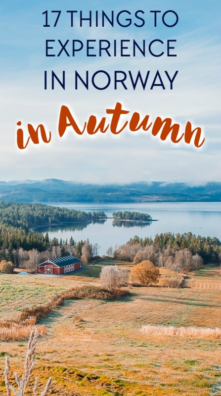 Autumn is maybe the most beautiful season in Norway and my favorite time of year to explore the country. Here are 17 things to do when traveling in Norway in autumn!