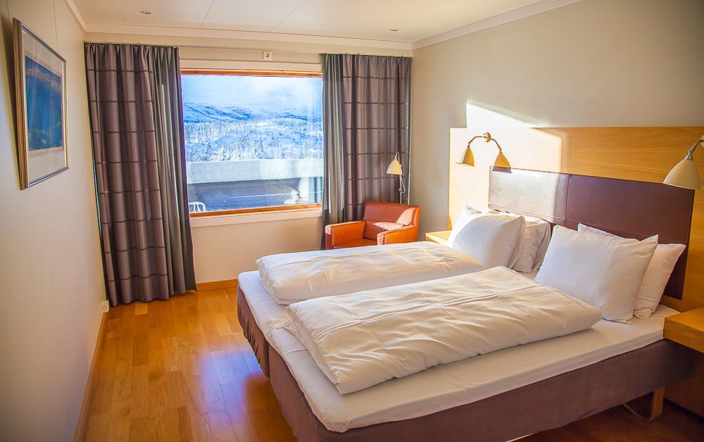 room Gaustablikk hotel Rjukan Telemark Norway Gaustatoppen