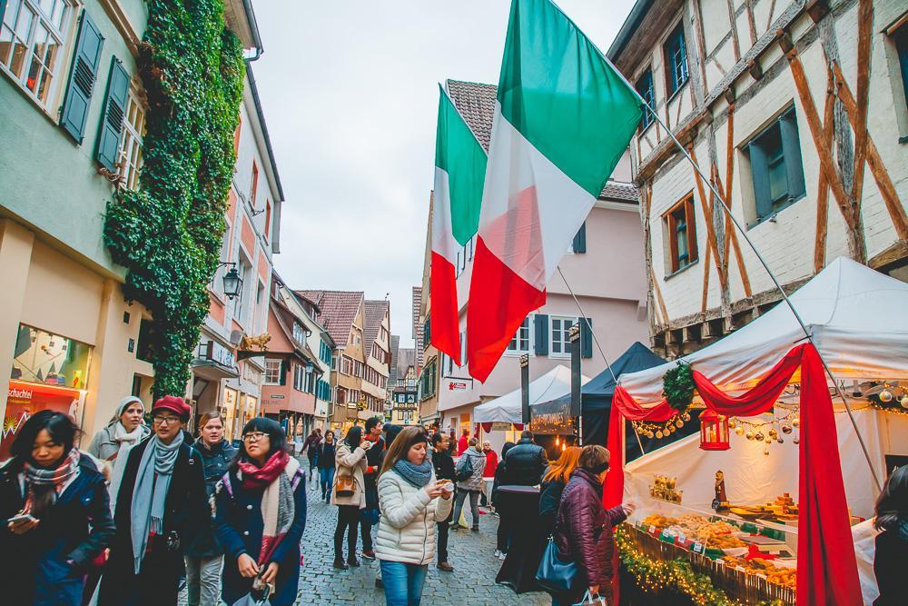 Tübingen december winter chocolate festival